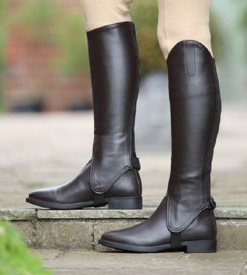 Shires Synthetic leather Gaiters